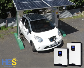 5000W Hybrid solar solutions in last week